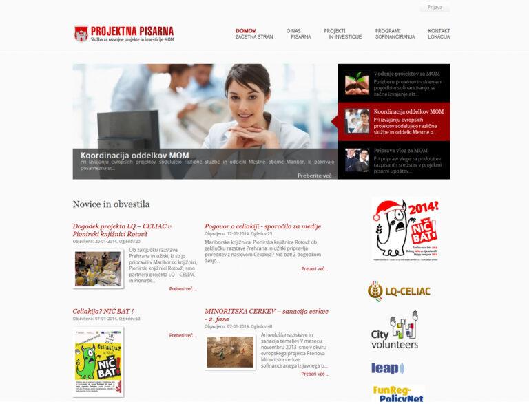 projektna pisarna spletna